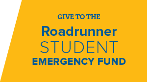 Give to the Roadrunner student emergency fund