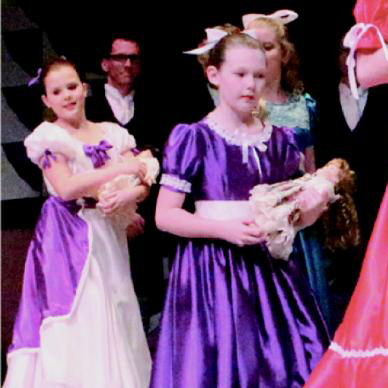 children performers in the nutcracker
