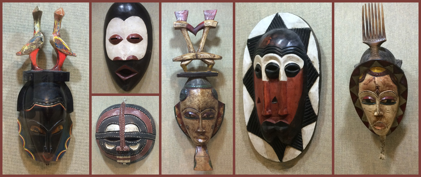 Gary Westford African Mask Donation