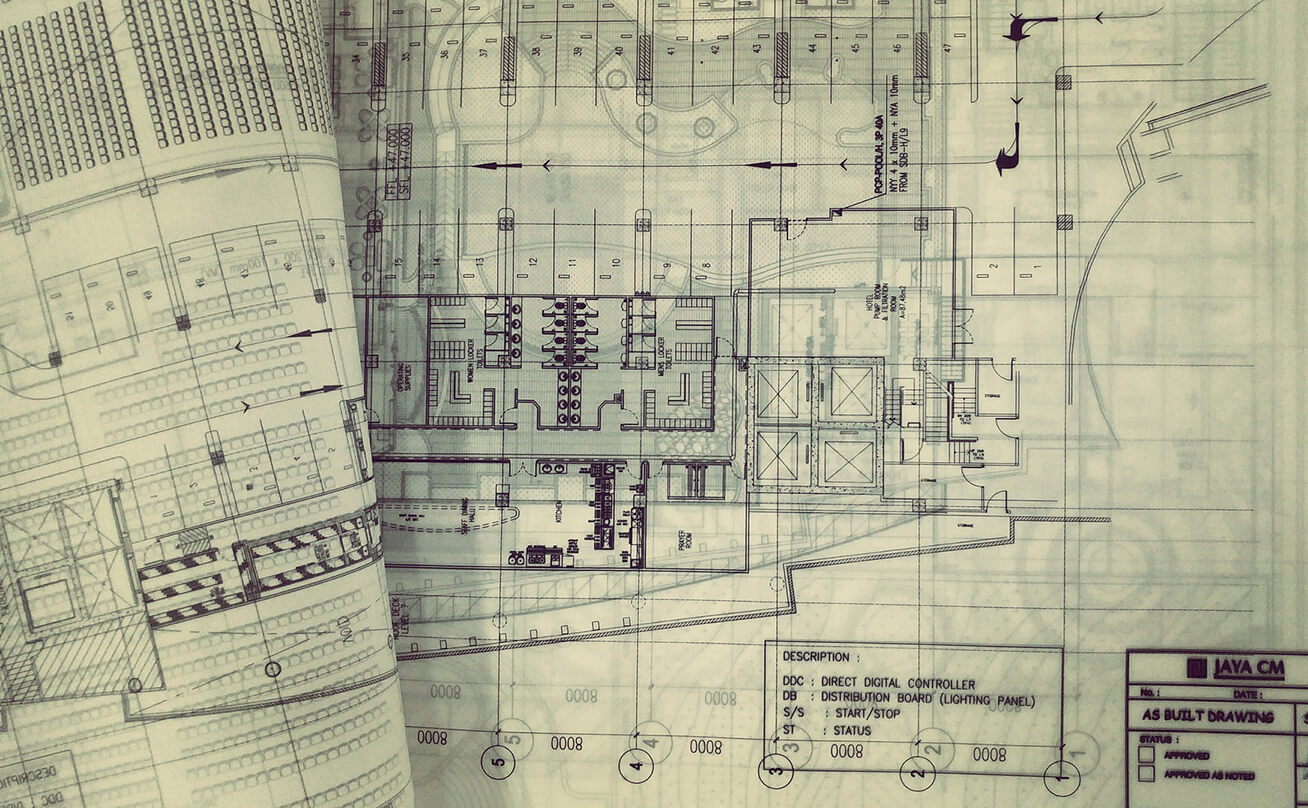 Electrical drawing blueprints
